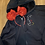 Thumbnail: Mickey Silhouette embroidered zip up hoodie