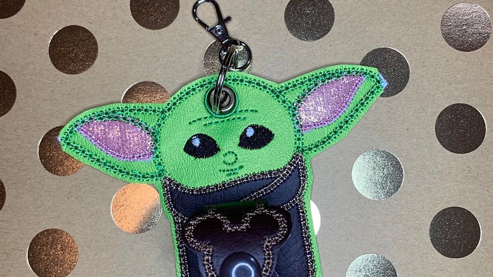 Baby Yoda hat/ear holder
