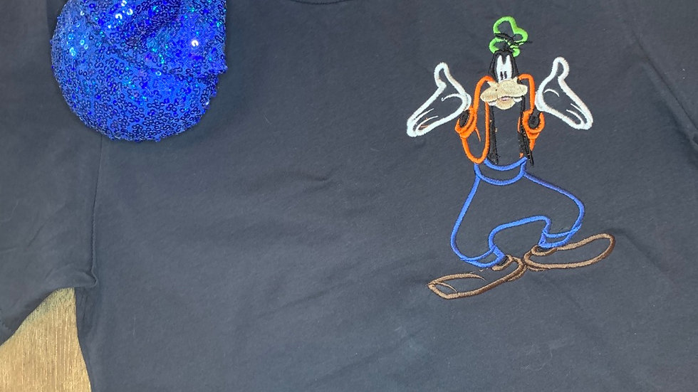 Feeling Goofy embroidered t-shirt or tank Top