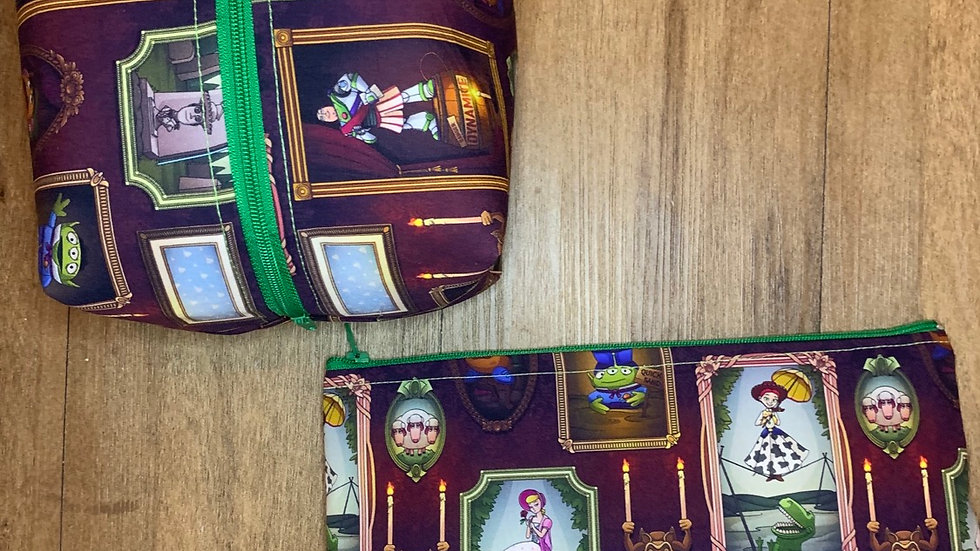 Toy Story HM Mash Up boxy bag or makeup bag