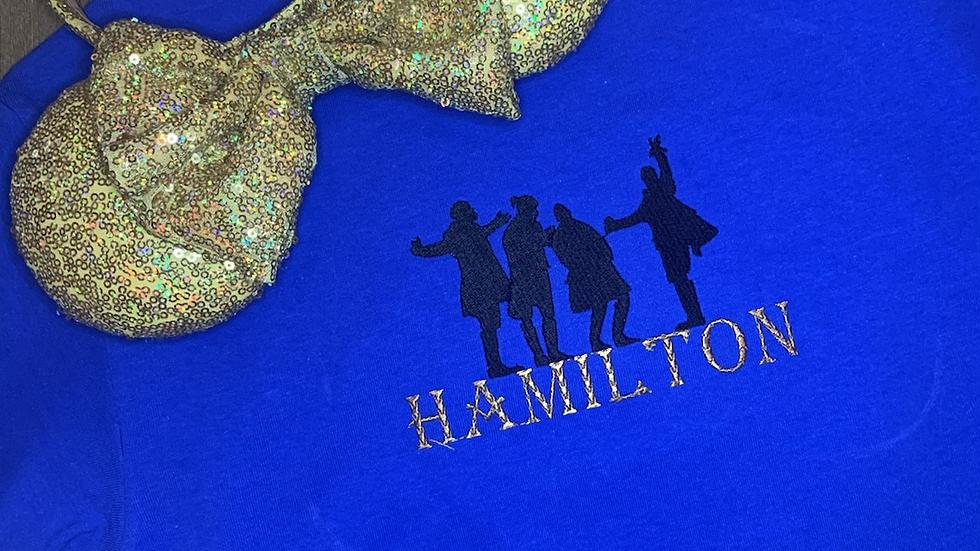 Hamilton Embroidered Tee or Tank