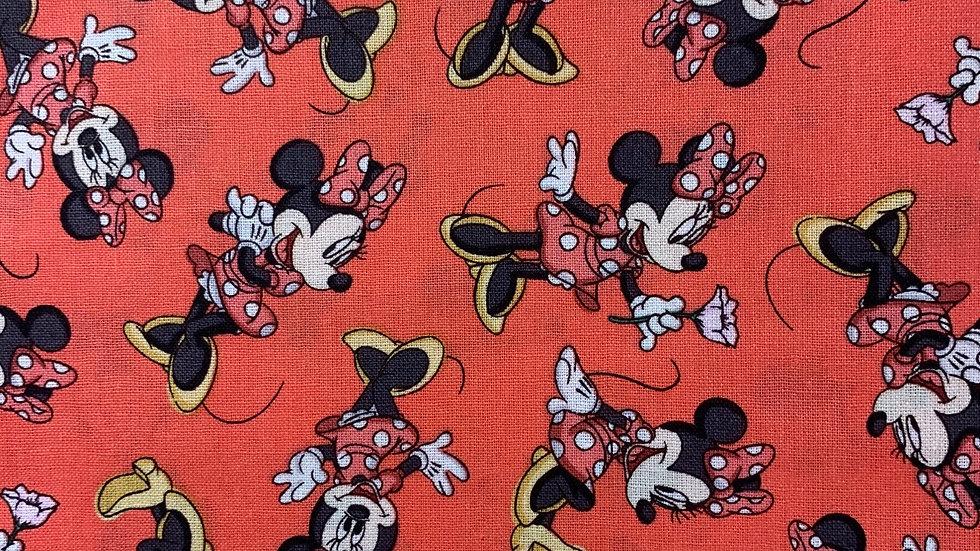 Minnie Mouse boxy bag or makeup bag