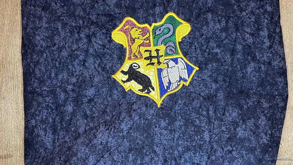 Harry Potter House Crest towels, makeup bag, tote