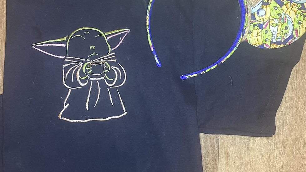 The Child embroidered t-shirt or tank