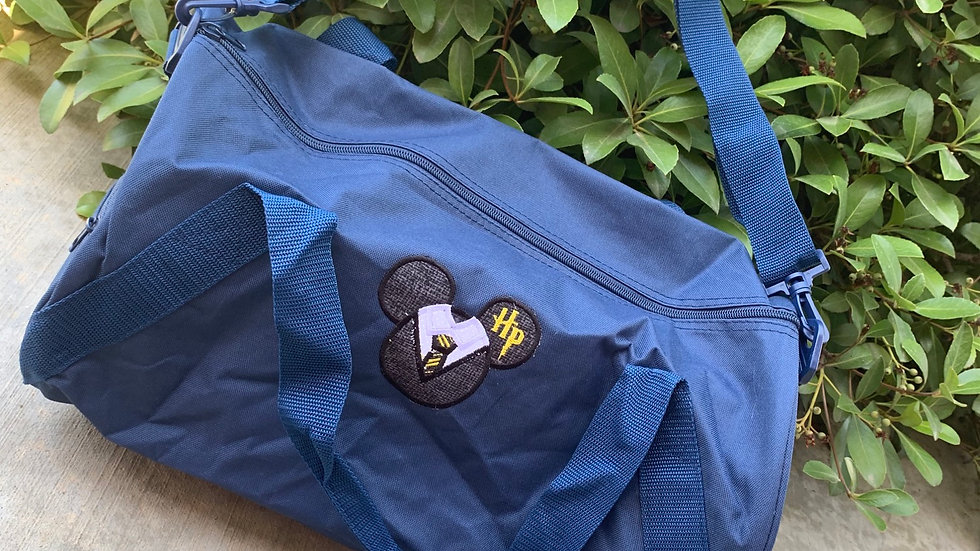 Harry Potter Mouse embroidered duffel bag