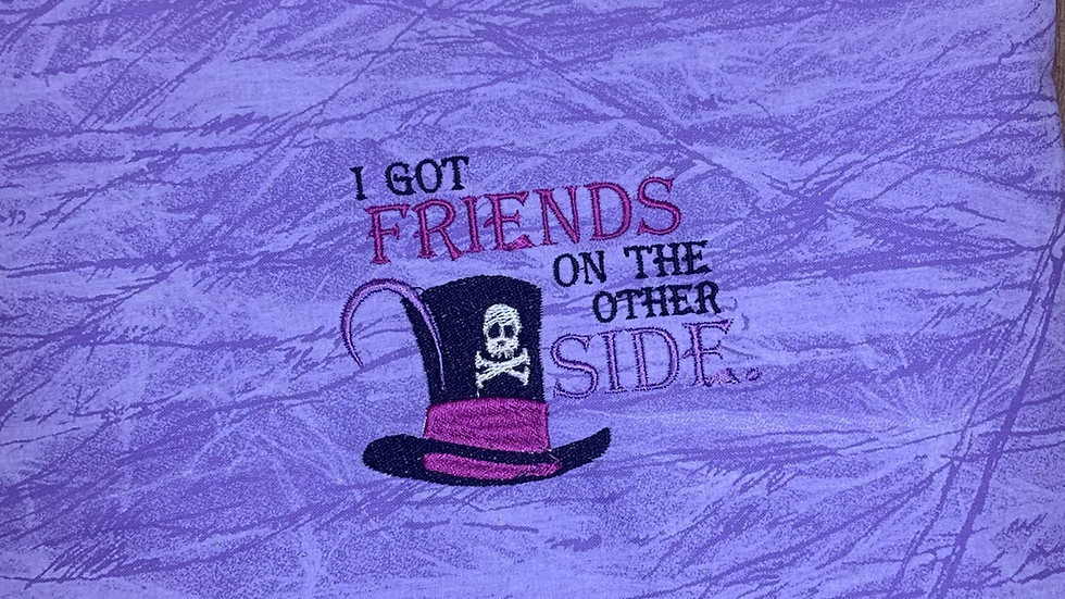 Dr. Facilier Friends on the other side towels, makeup bag, tote