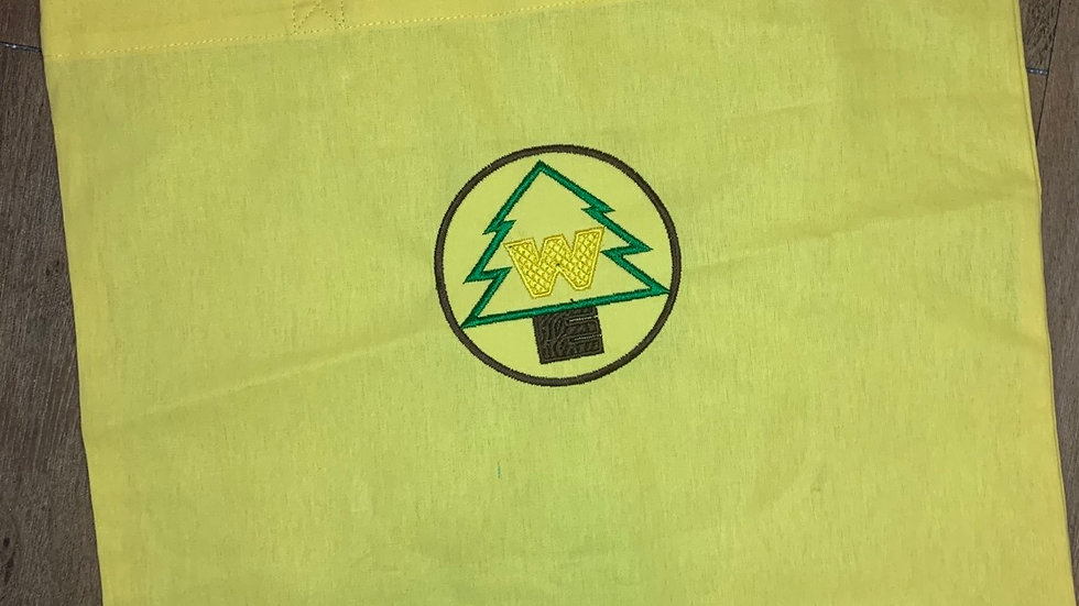 Wilderness Explorer Patch embroidered market tote