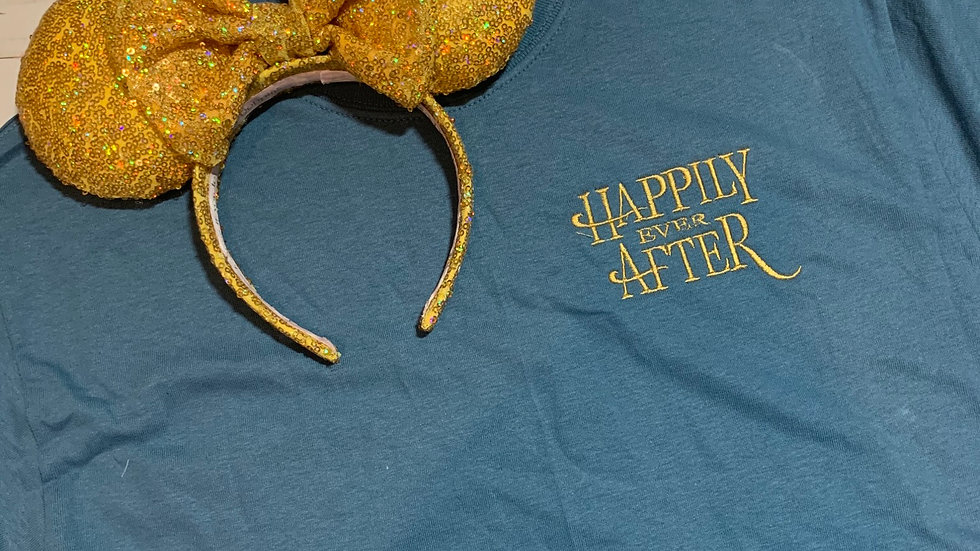 Happily ever After embroidered T-Shirt or tank top