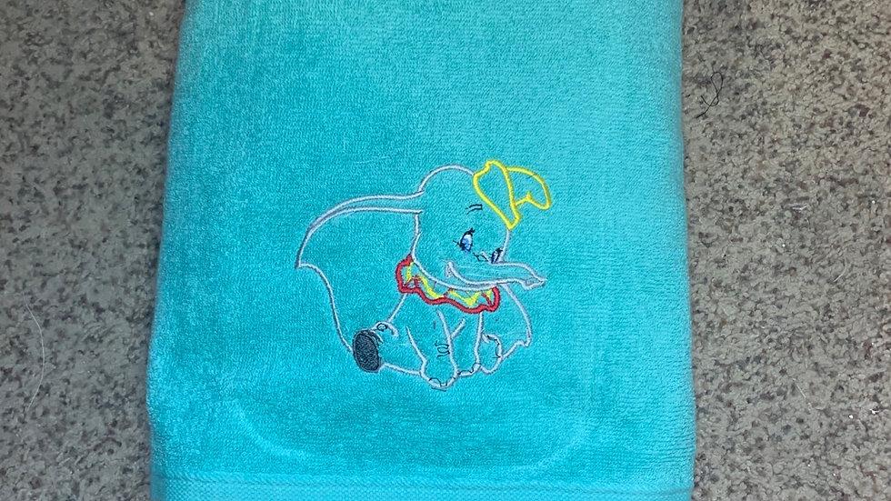 Dumbo towels, makeup bag, tote bag, bl