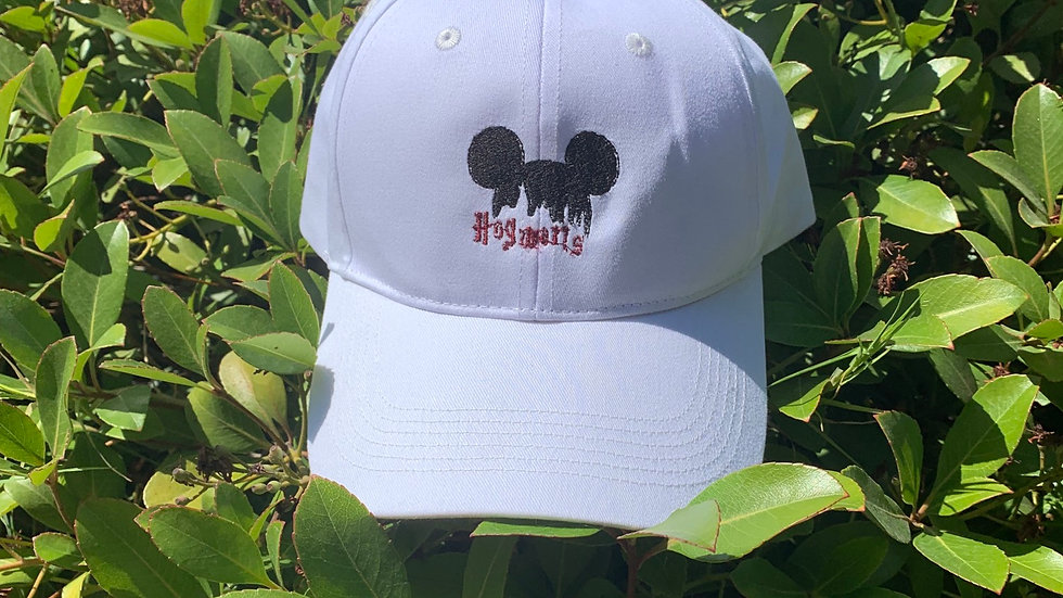 Hogwarts Mouse embroidered hat