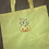 Thumbnail: Marie Pumpkin embroidered market tote