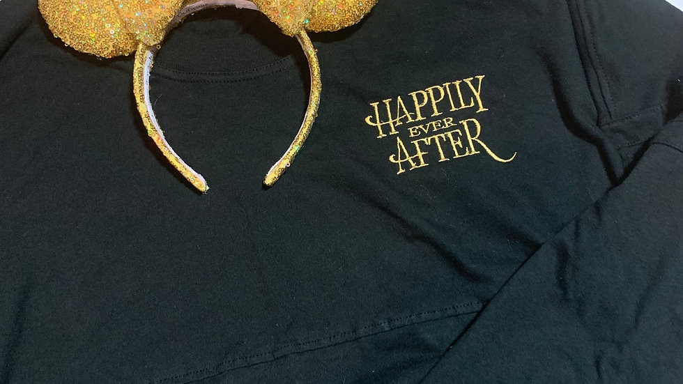 Happily ever After embroidered spirit jersey