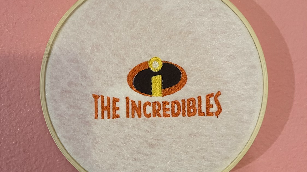 The Incredibles 6 inch wall hanger