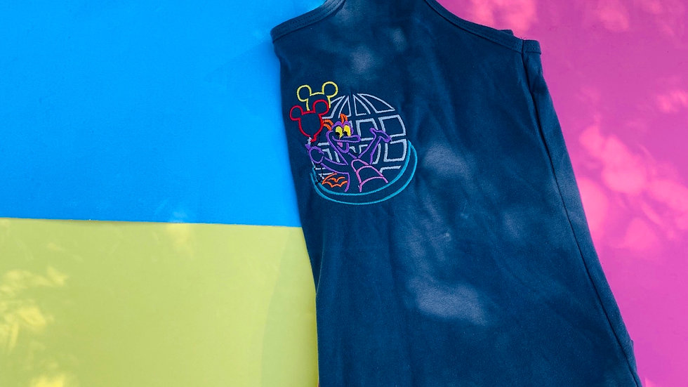 Figment embroidered t-shirt or tank top
