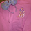 Thumbnail: Paisley Daisy Duck embroidered hoodie, pullover, 1/4 zip