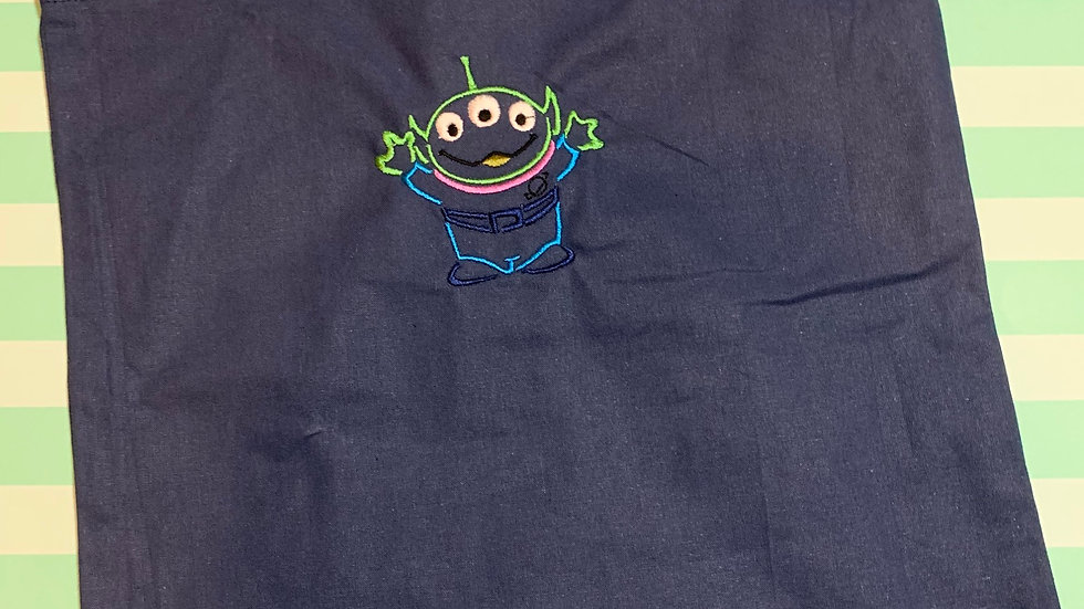 Toy Story Alien embroidered market tote