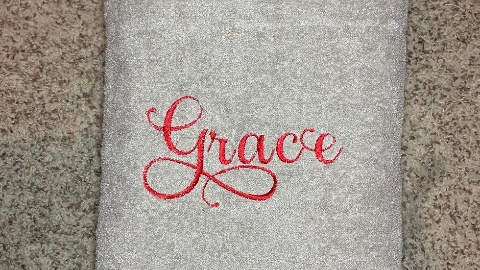 Grace bath towels / hand towels