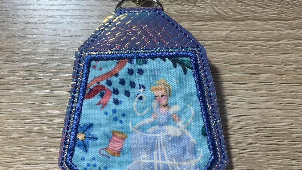 Cinderella Headphone Holder/ Airpod Holder Keychain