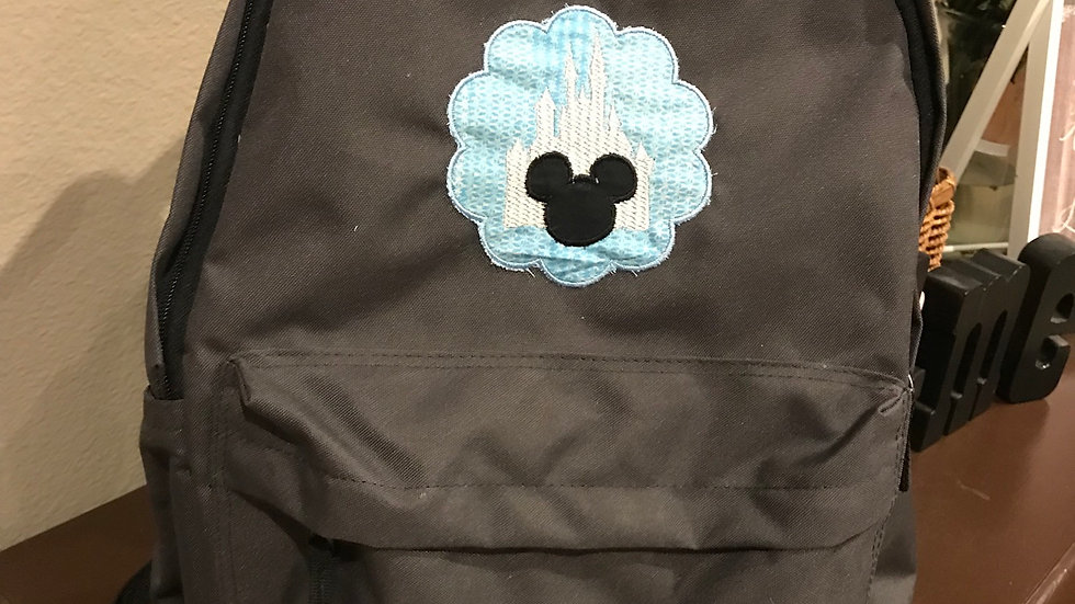 Castle Dreams Embroidered Backpack