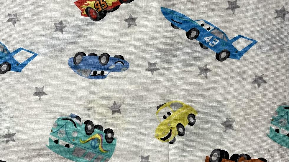 Cars Toss Makeup bag or boxy bag