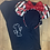 Thumbnail: Minnie Silhouette embroidered t-shirt or tank