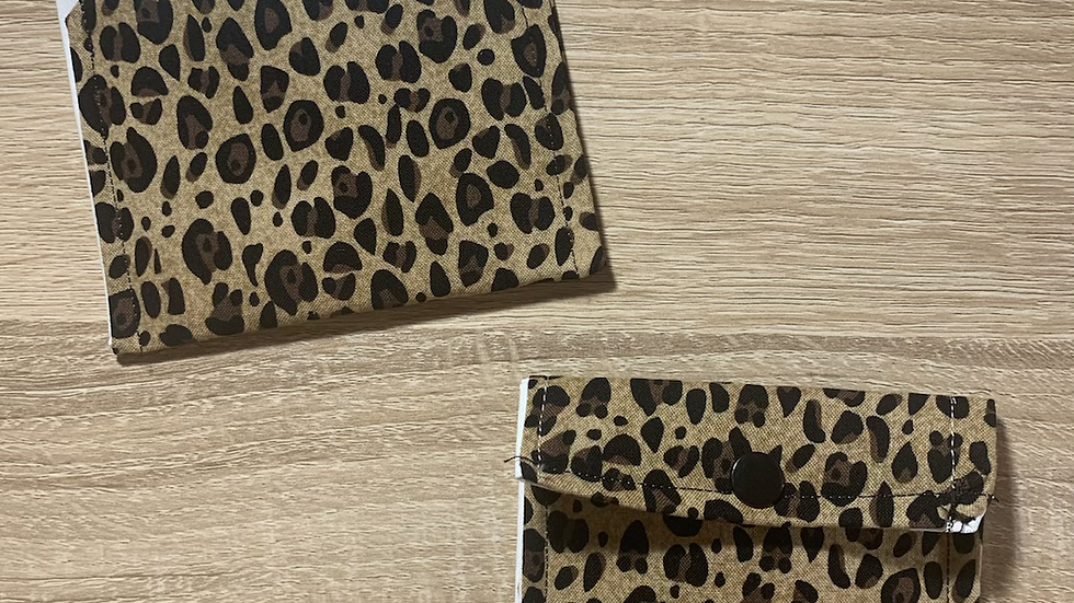 Leopard Card Wallet