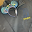 Thumbnail: Disneyland embroidered hoodie, pullover, 1/4 Zip