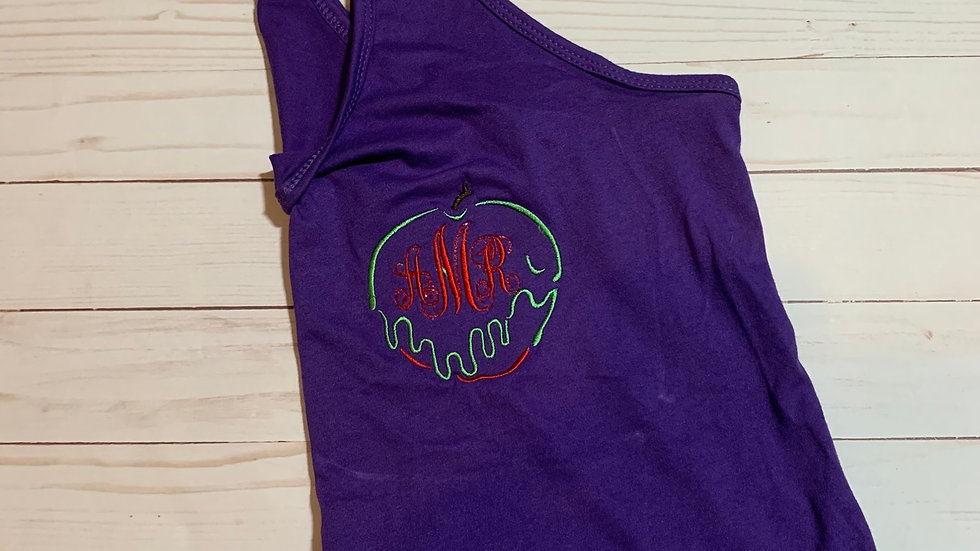 Poison Apple Monogram embroidered T-Shirt or tank top