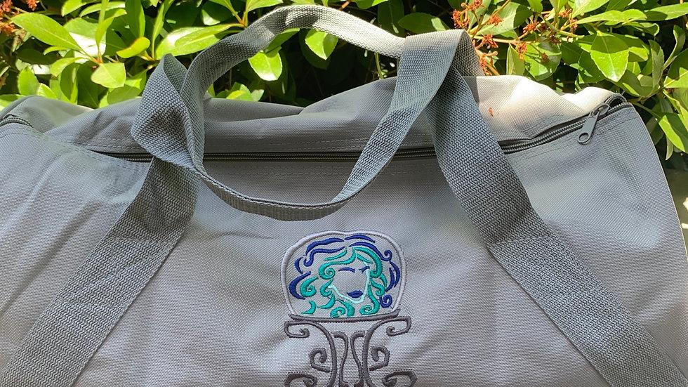 Leota embroidered duffel bag