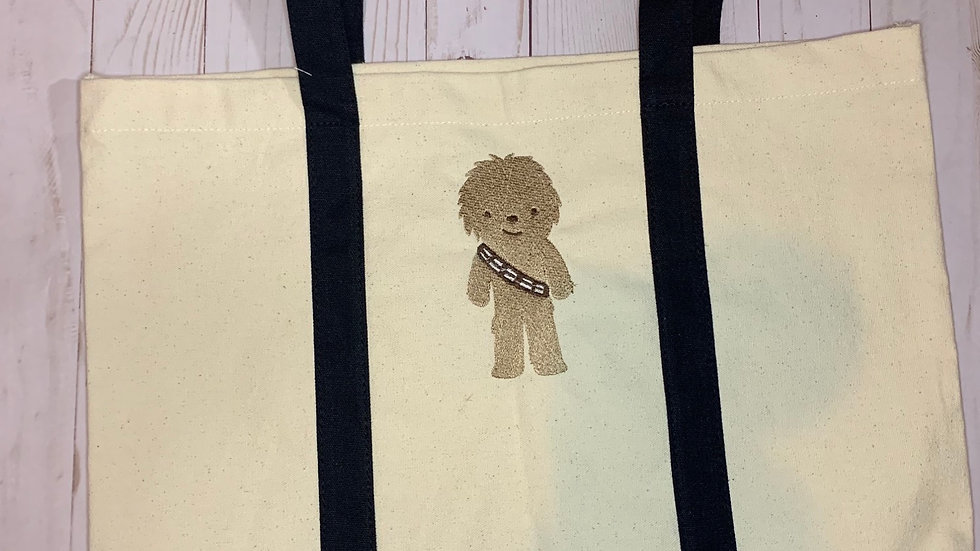 Baby Chewy pocket tote
