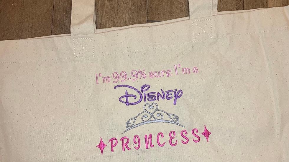 I'm 99% sure i'm a Disney Princess Large Canvas tote