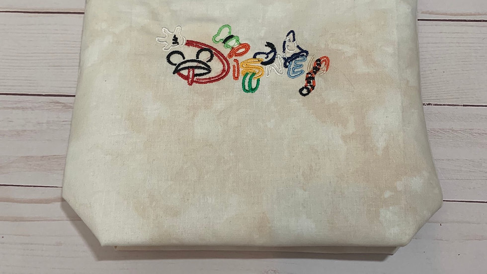 Classic mickey mouse disney embroidered towels, blanket, makeup bag or t