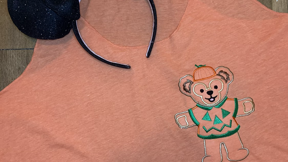 Pumpkin Duffy  embroidered t-shirt or tank