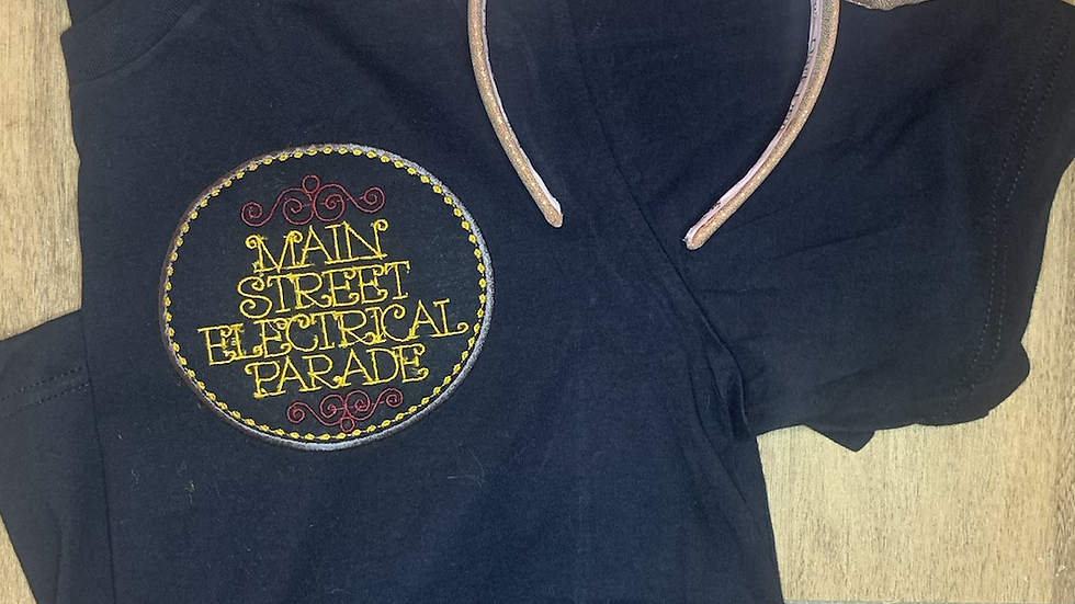 Main Street Electrical Parade embroidered t-shirt or tank