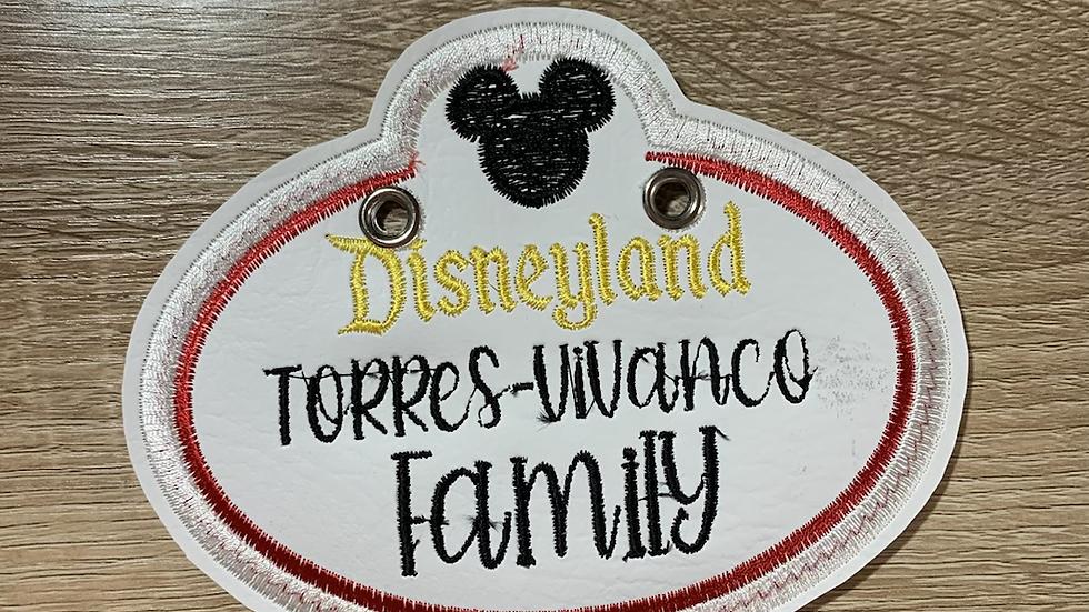 Disneyland Stroller Tag