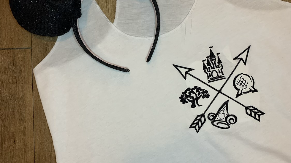 4 Parks embroidered t-shirt or tank