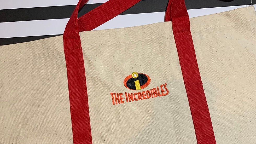The Incredibles pocket tote