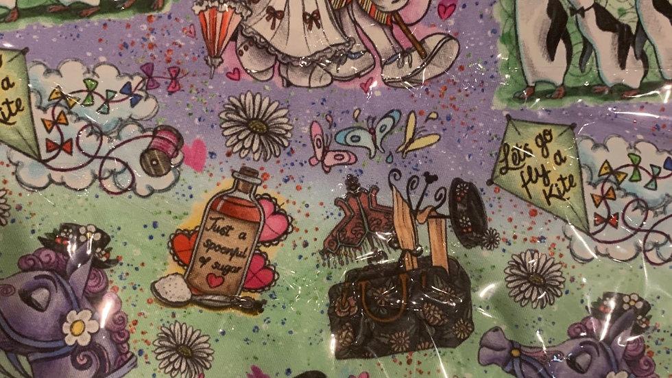 Spoonful of Sugar boxy bag or makeup bag