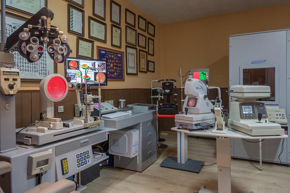 Centro de optometría. Óptica Visión-MASH