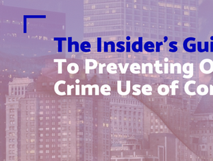 The Insider's Guide to Preventing Organised Crime use of Corruption