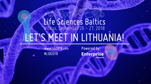 Invitation to participate at Life Sciences Baltics Forum, September 26-27, 2018, Vilnius, Lithuania