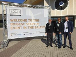 Attending Login Startup Fair