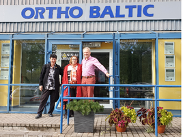 MMATECH  andOrtho-Baltic successful cooperation in Patient-custom made Hip Joint Implants
