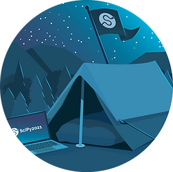 SciPy 2021 Glamping Sticker.png