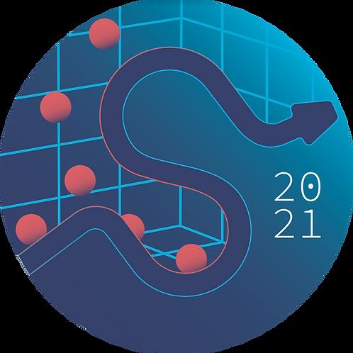 SciPy 2021 Conference Sticker