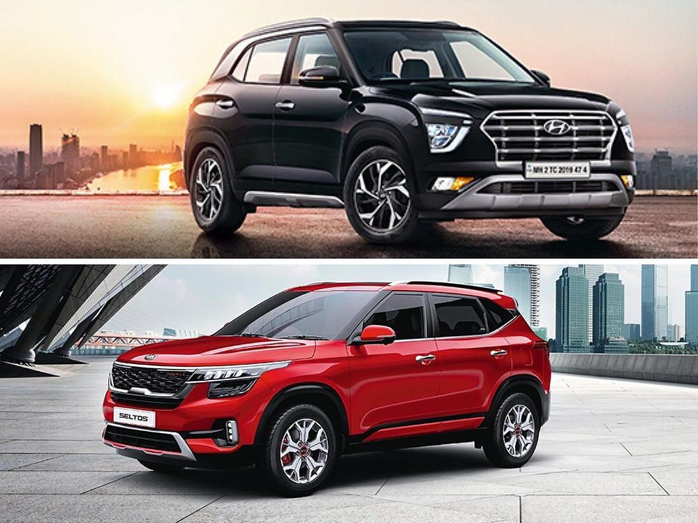 Hyundai Creta vs Kia Seltos AutoConcepts