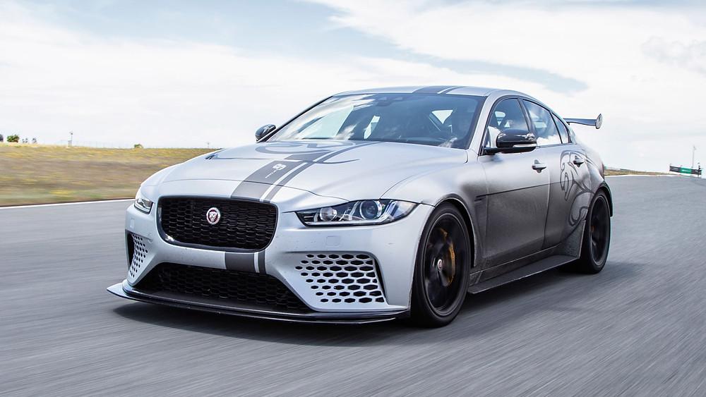 Jaguar XE SV Project Nürburgring