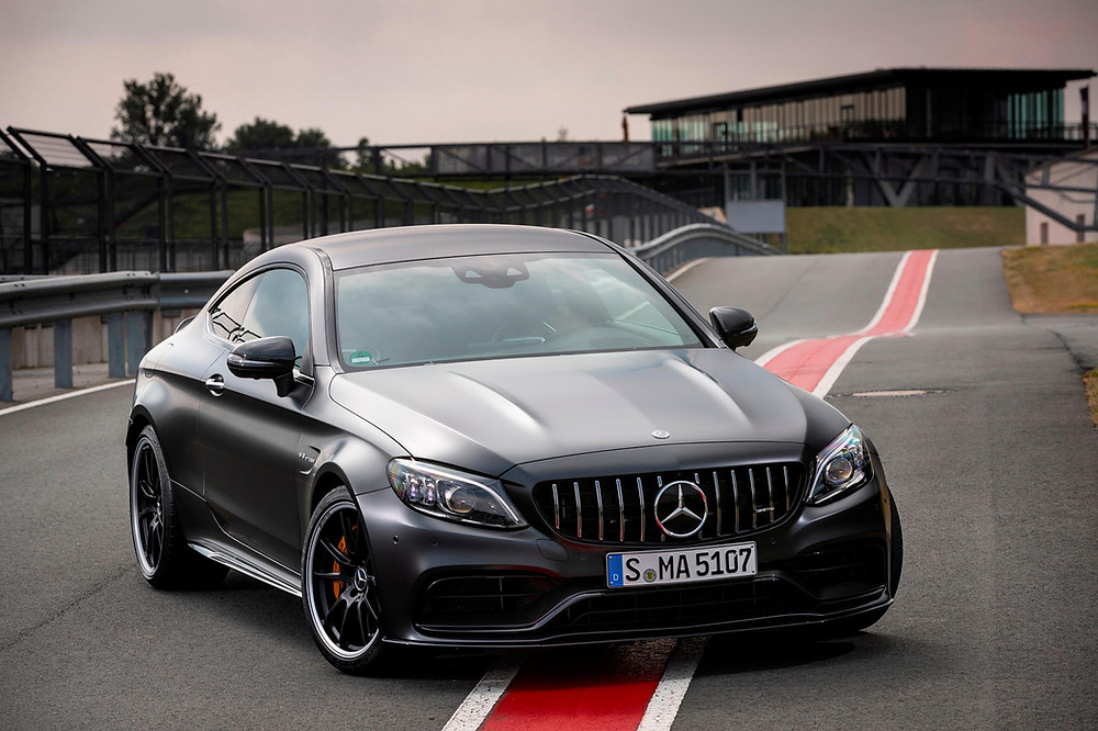mercedes benz amg c63 coupe