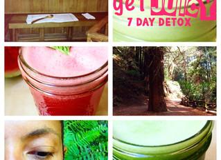 'get juicy' 7 day detox
