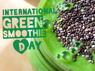 international green smoothie day!